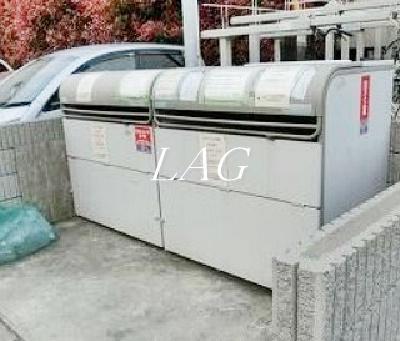 共用ゴミ置き場です。