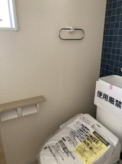 【トイレ】板橋区四葉 新築戸建て
