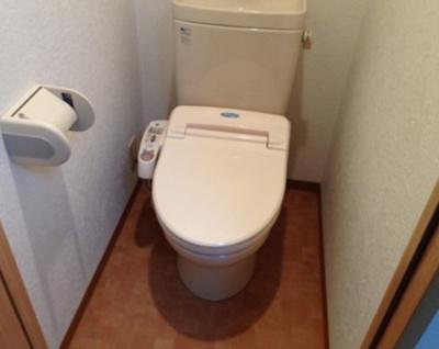 【トイレ】ソレイユ新桜台