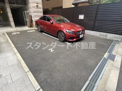 【駐車場】Luxe天神橋