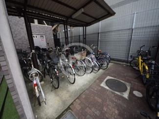 パルティシオン松崎 駐輪場