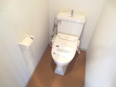 【トイレ】クレストガーデン自由が丘