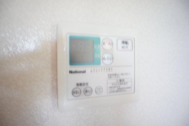 温度調整も楽な給湯ボタンです