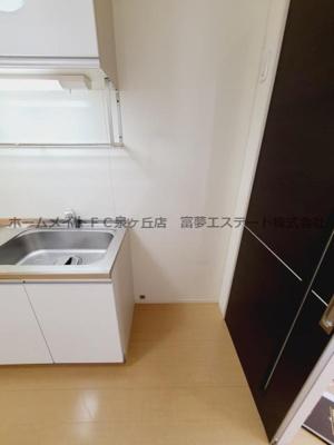 冷蔵庫スペース