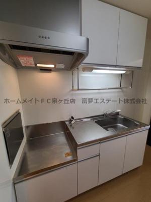 【キッチン】ウィステリアプレイス