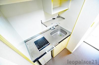 コンパクトなキッチンでお掃除もらくらく