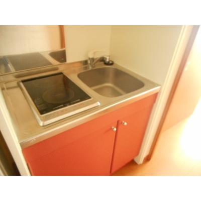 【キッチン】レオパレスグリーンパーク