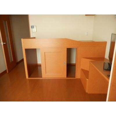 ベッドスペース(ベッド下収納あり)