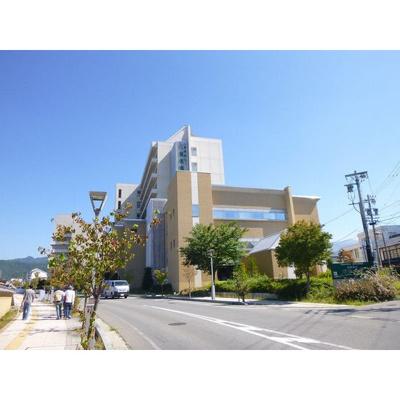病院「地方独立行政法人長野県立病院機構まで1313m」