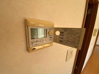 給湯器のコントロールスイッチ