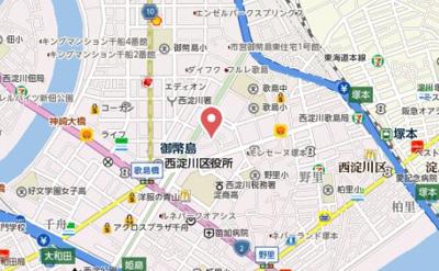 【地図】ヴィラ歌島