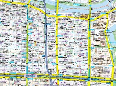 【地図】レオンコンフォート北浜