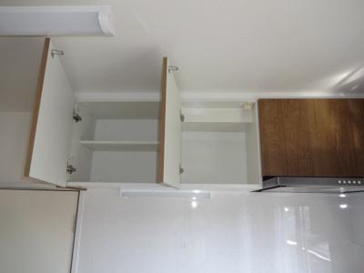 キッチン吊り戸収納スペース