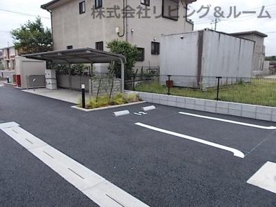 【駐車場】ローズベル・Ⅱ棟