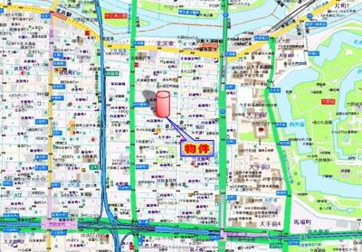 【地図】マルべリーモラダ