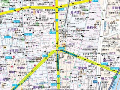 【地図】ランドマークシティ梅田東