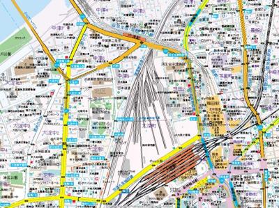 【地図】ノースヴィレッジバースプレイス