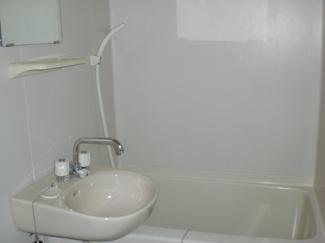 【浴室】レオパレス和