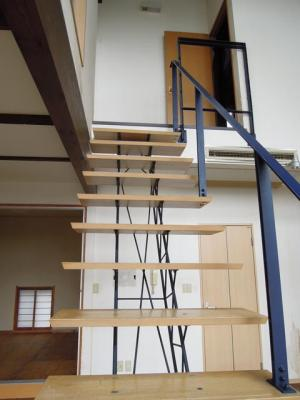 ストリップ階段
