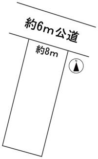 【区画図】56866 岐阜市加納本町土地