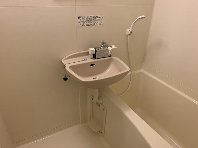 【浴室】レオパレス青柳