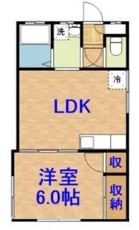 【間取り】《木造!角地!》千葉県茂原市鷲巣一棟アパート