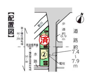 【区画図】沼津市下香貫藤井原Ⅰ 新築戸建 全2棟 (2号棟)