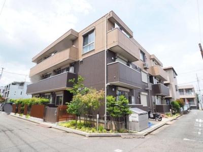 京浜急行大師線「小島新田駅」徒歩11分のアパートです。