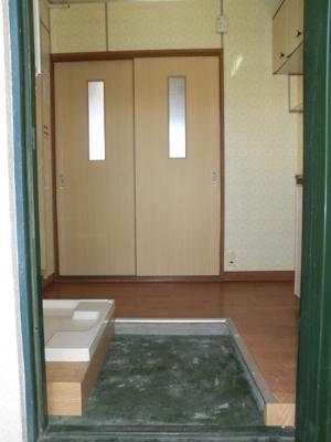 【玄関】新山荘