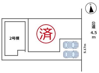 【区画図】MIRASUMO 瑞穂区前田町