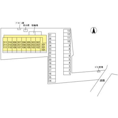 【駐車場】竜舞駅 内ケ島町 3階建
