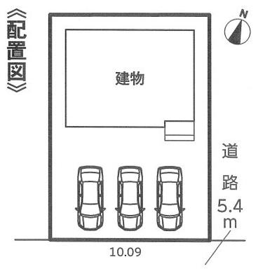 【区画図】LIGNAGE 名古屋市港区宝神町21-1期