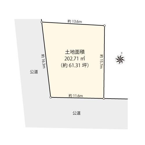【土地図】大田区南千束2丁目