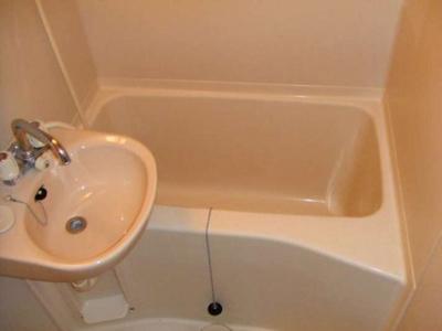 【浴室】レオパレスしらかば