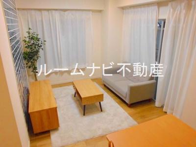 【居間・リビング】高田馬場マンション
