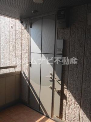 【玄関】九曜新大塚マンション