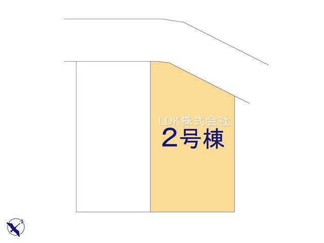 【区画図】新築戸建/ふじみ野市元福岡2丁目(全2棟)