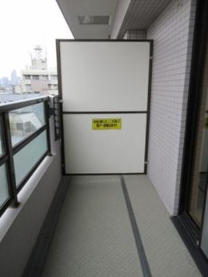 【バルコニー】ライオンズマンション渋谷道玄坂