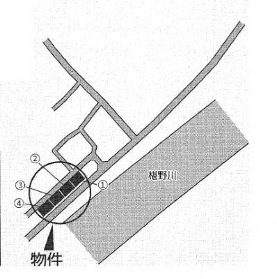 【区画図】クレイドルガーデン山口市朝田 第3(4号棟)