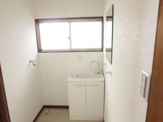 脱衣室、洗濯機置き場