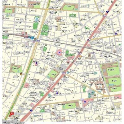 【地図】トップお花茶屋第3