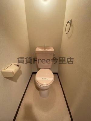 【トイレ】ファミーユ今里 仲介手数料無料