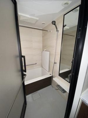 ベルジェンド元浅草クレール8Fの浴室です。