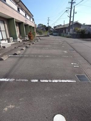 【駐車場】メゾネット城下Ⅲ