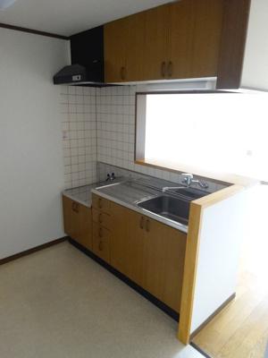 【キッチン】メゾネット城下Ⅲ