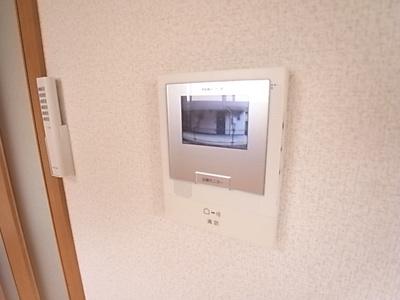 人気のTVモニターホン完備です。来客時に便利です。