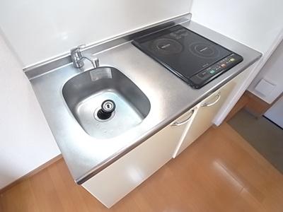 人気のIH2口コンロのシステムキッチンです。お料理がはかどります。