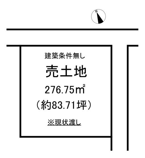 【土地図】錦町作鞍 売土地