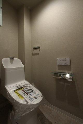 気になるトイレも新規交換が済んでおります◆オールシーズン関係なく暖かい便座で快適に過ごせる温水洗浄便座です!