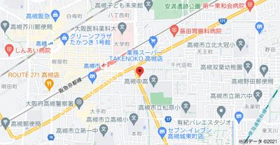 【地図】ぱなはうす (株)Roots